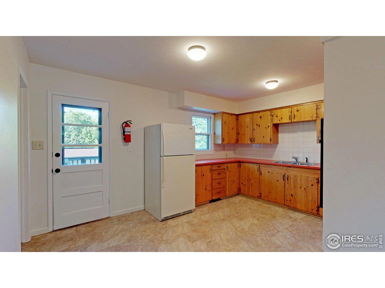 Main floor kitchen-new flooring