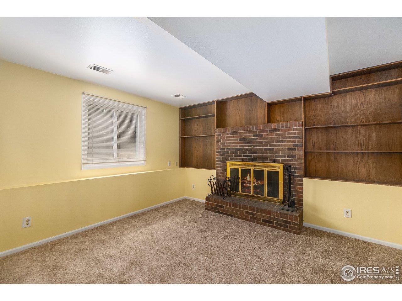Family room-lower level