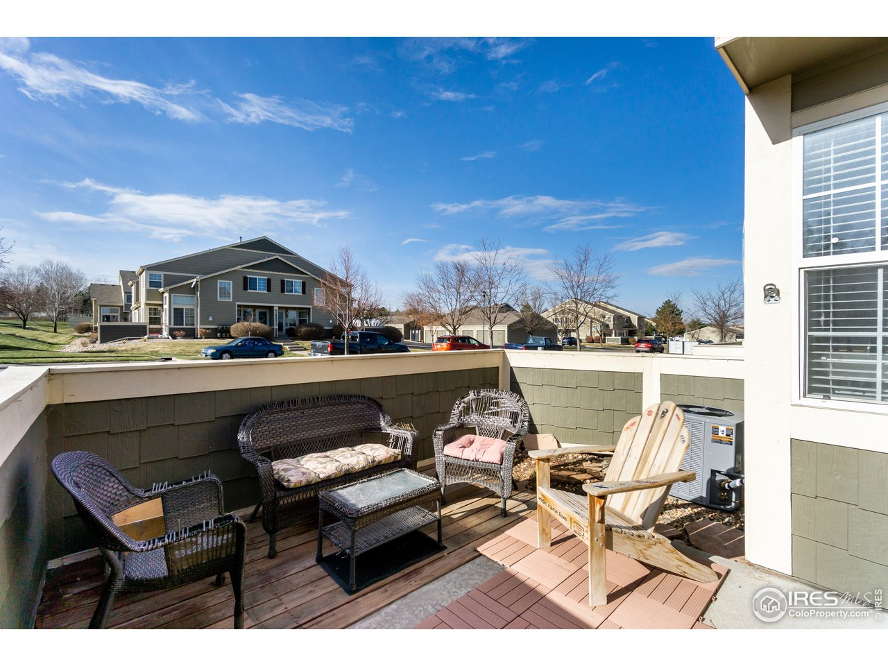 Patio to relax on in this quiet community