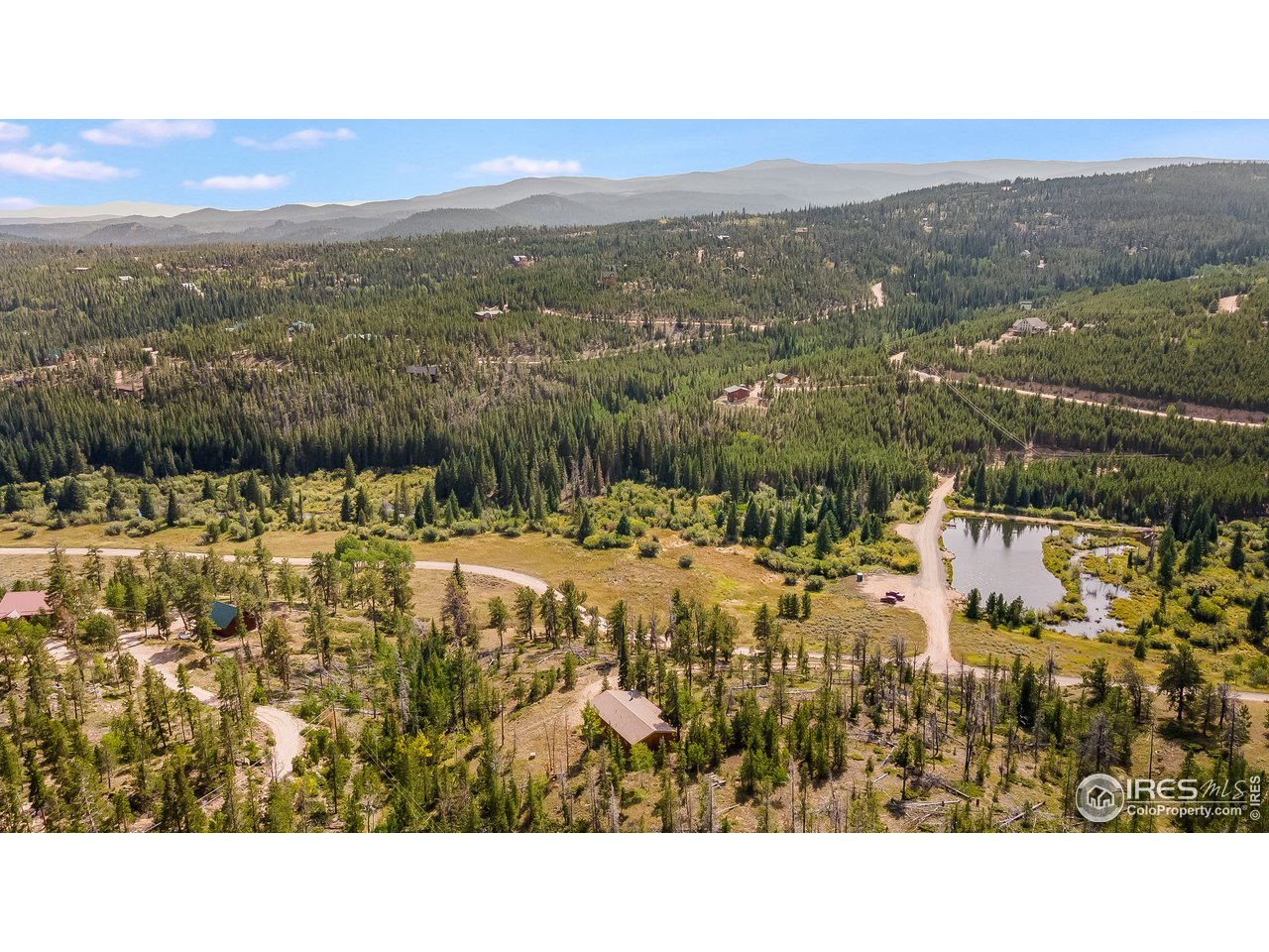 2.79 acre lot-great fishing pond near property