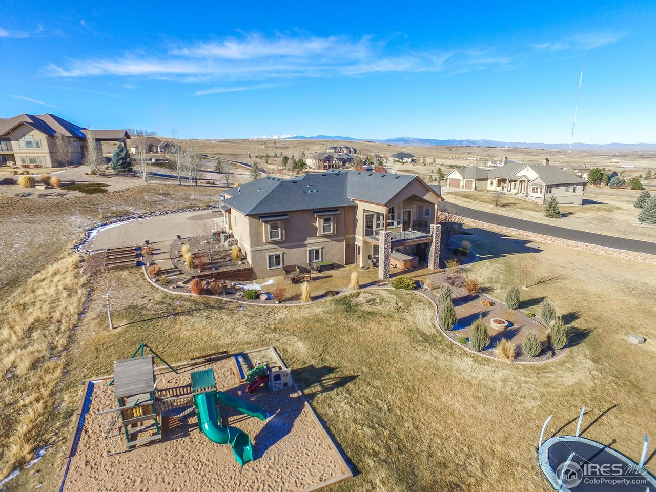 2.25 Acres Professionally Landscaped