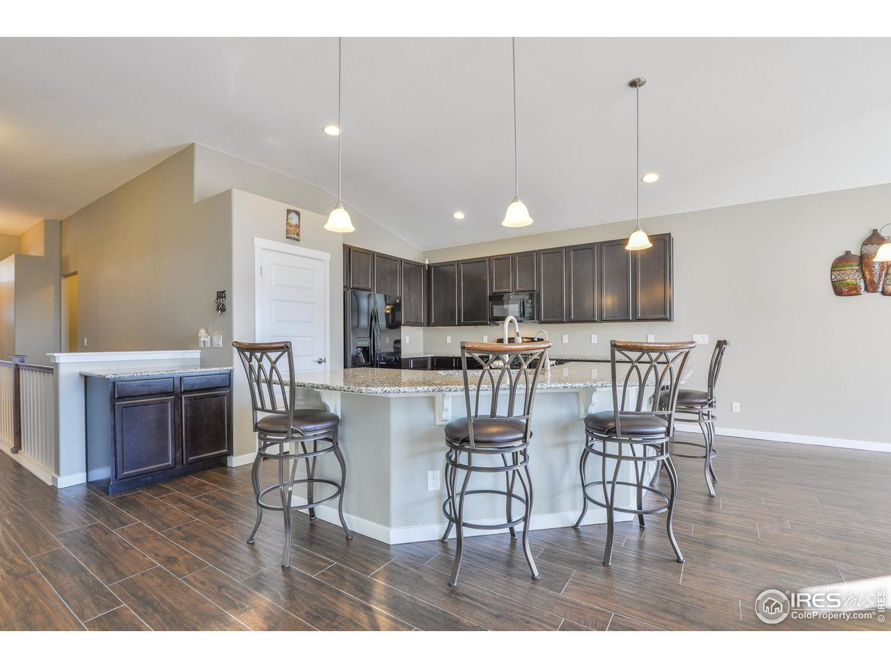 Kitchen Features Coffee Bar and Large Pantry