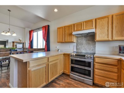 Lots of Countertop and Cabinet Space