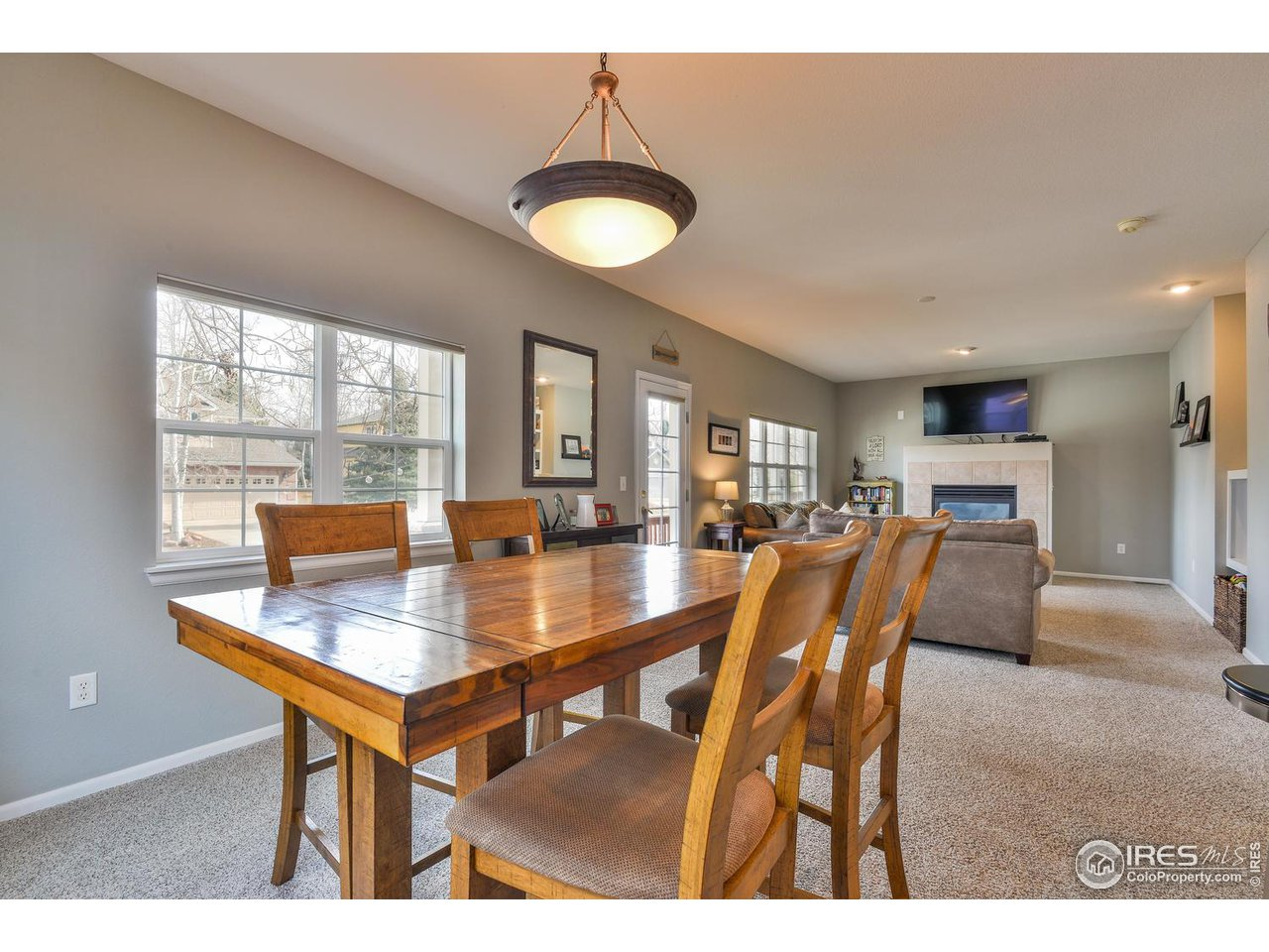 Open Dining Area and Great Room