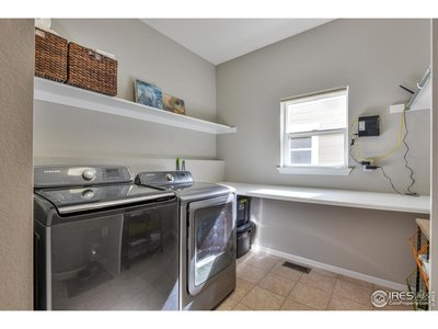 Laundry Room w/ Folding Table