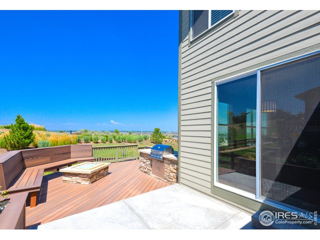 Large Extended Deck and Patio