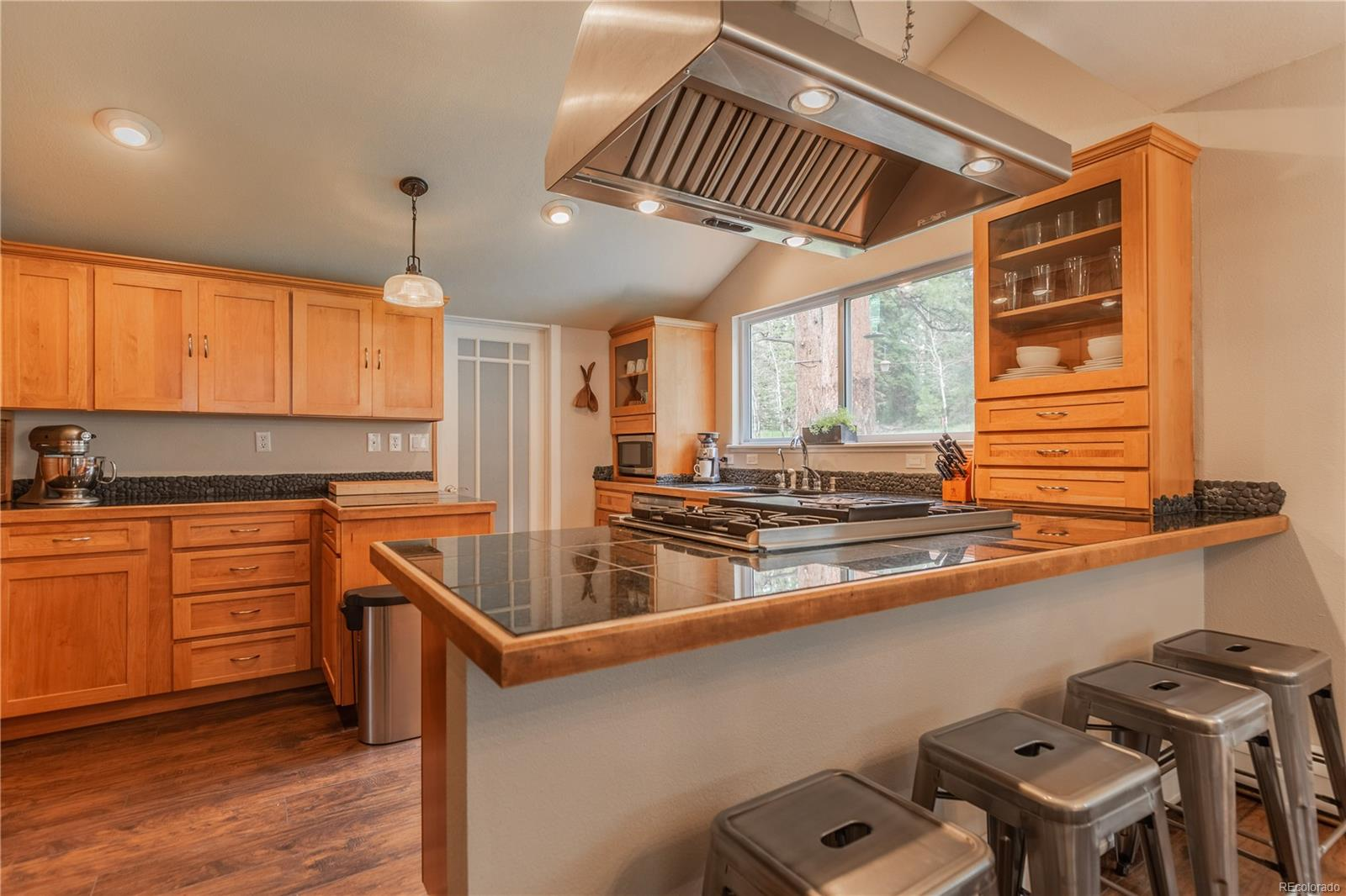 Plenty of storage with double convection oven.