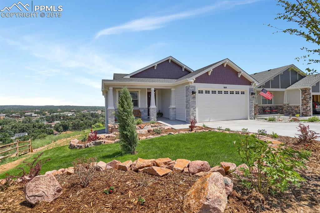 Gorgeous one of a kind Ranch overlooking Colorado Springs