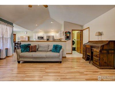 New Laminate Hardwood Flooring