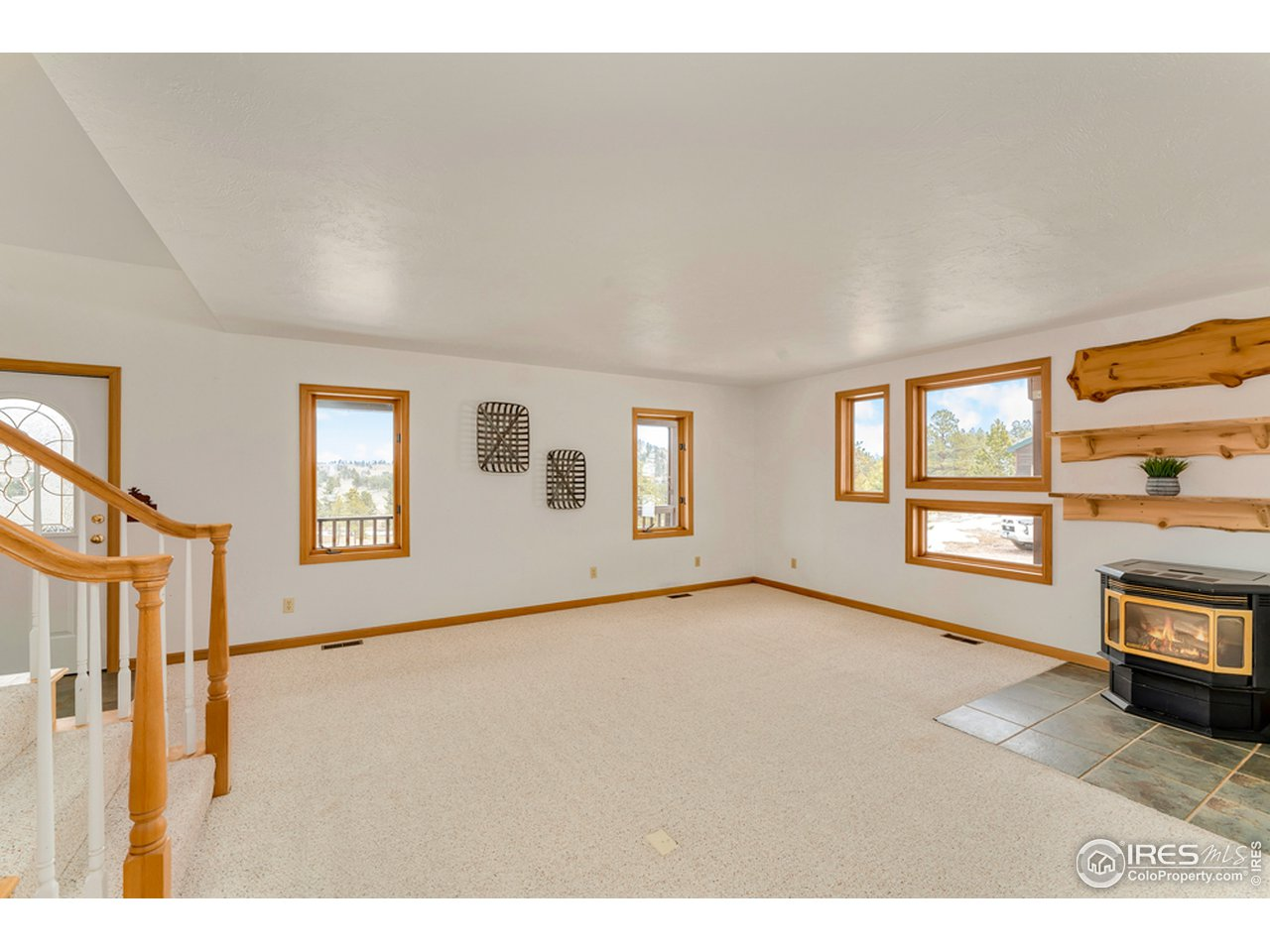 Dining Room, Eat in Kitchen & Pellet Stove