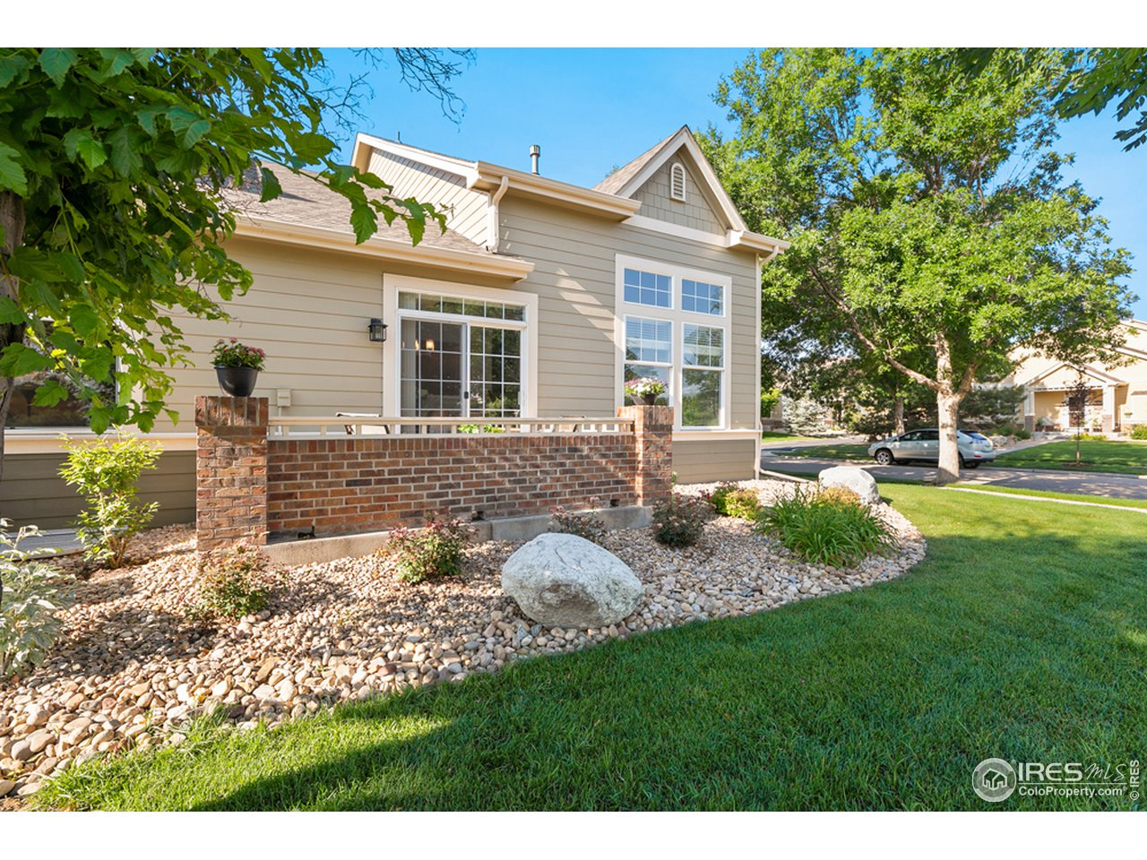 Surrounded by Mature Trees and Landscape Maintained by HOA
