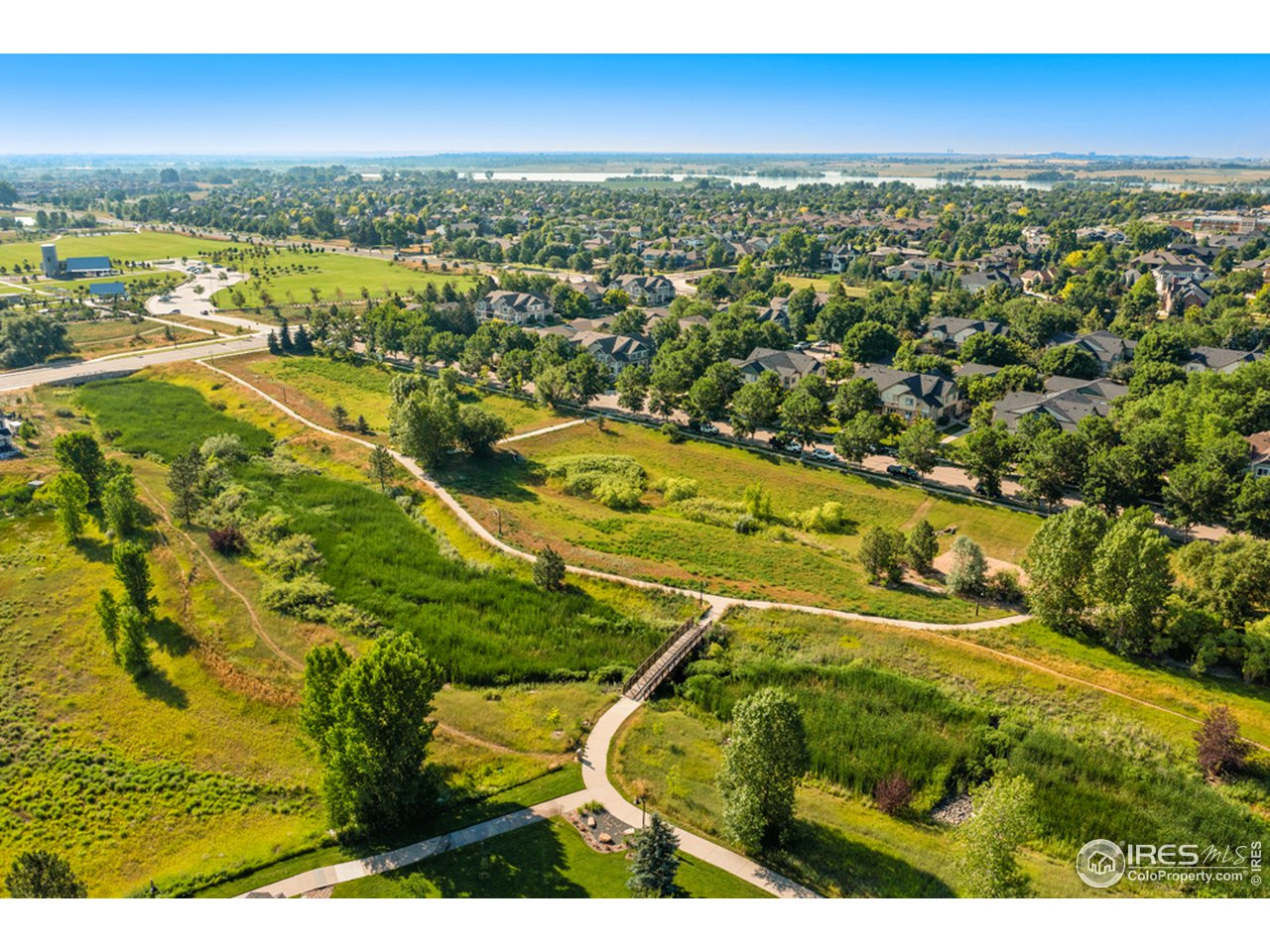 Neighborhood trail system - connects to Twin Silo Park