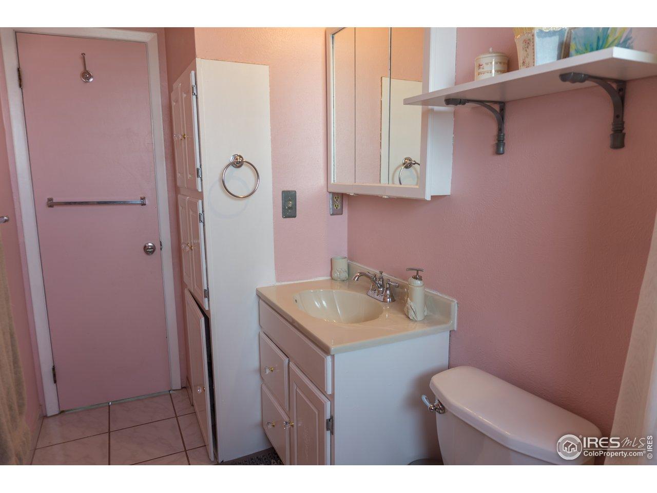 Upstairs bathroom.