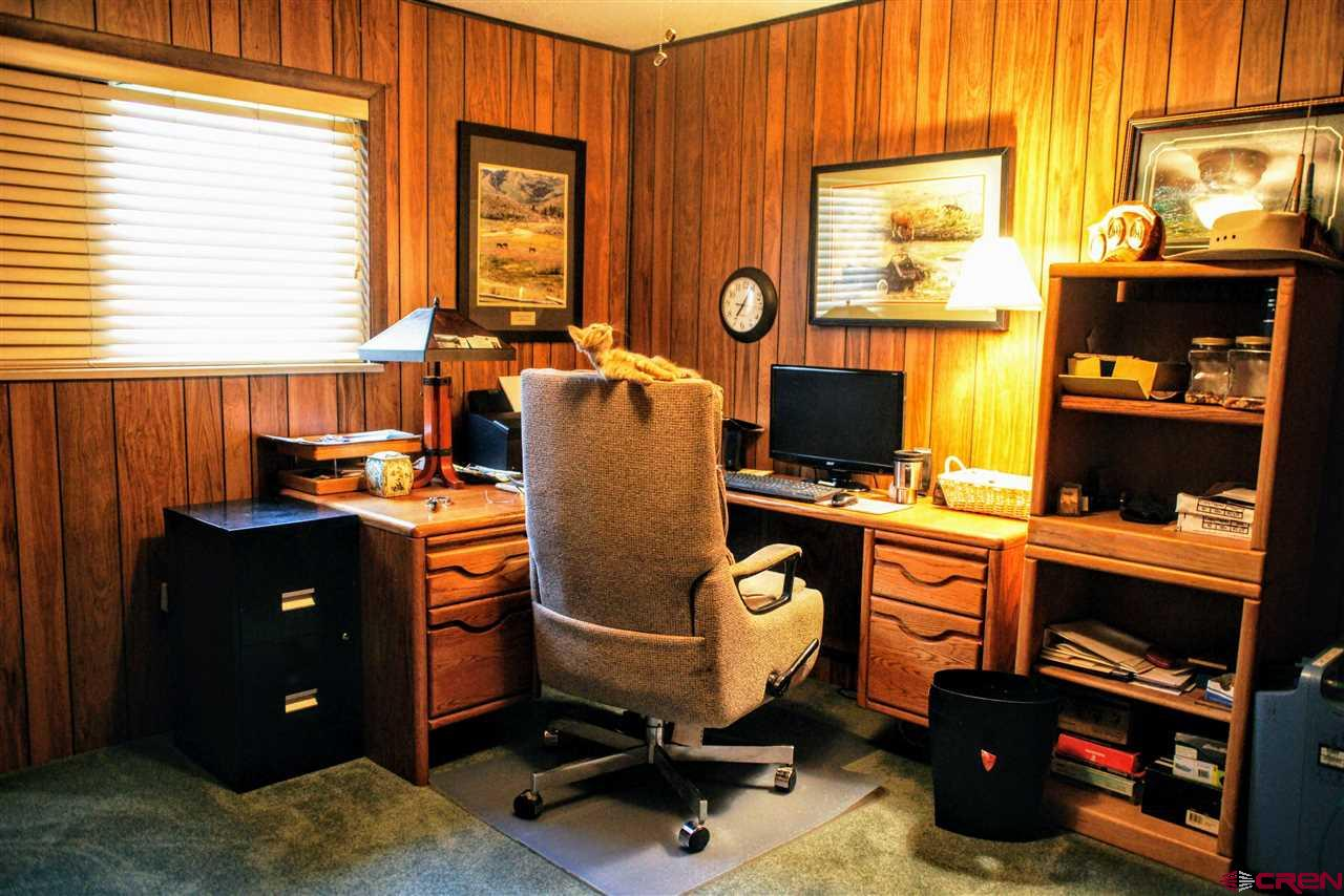 2ND BEDRM ON MAIN LEVEL CURRENTLY USED AS OFFICE