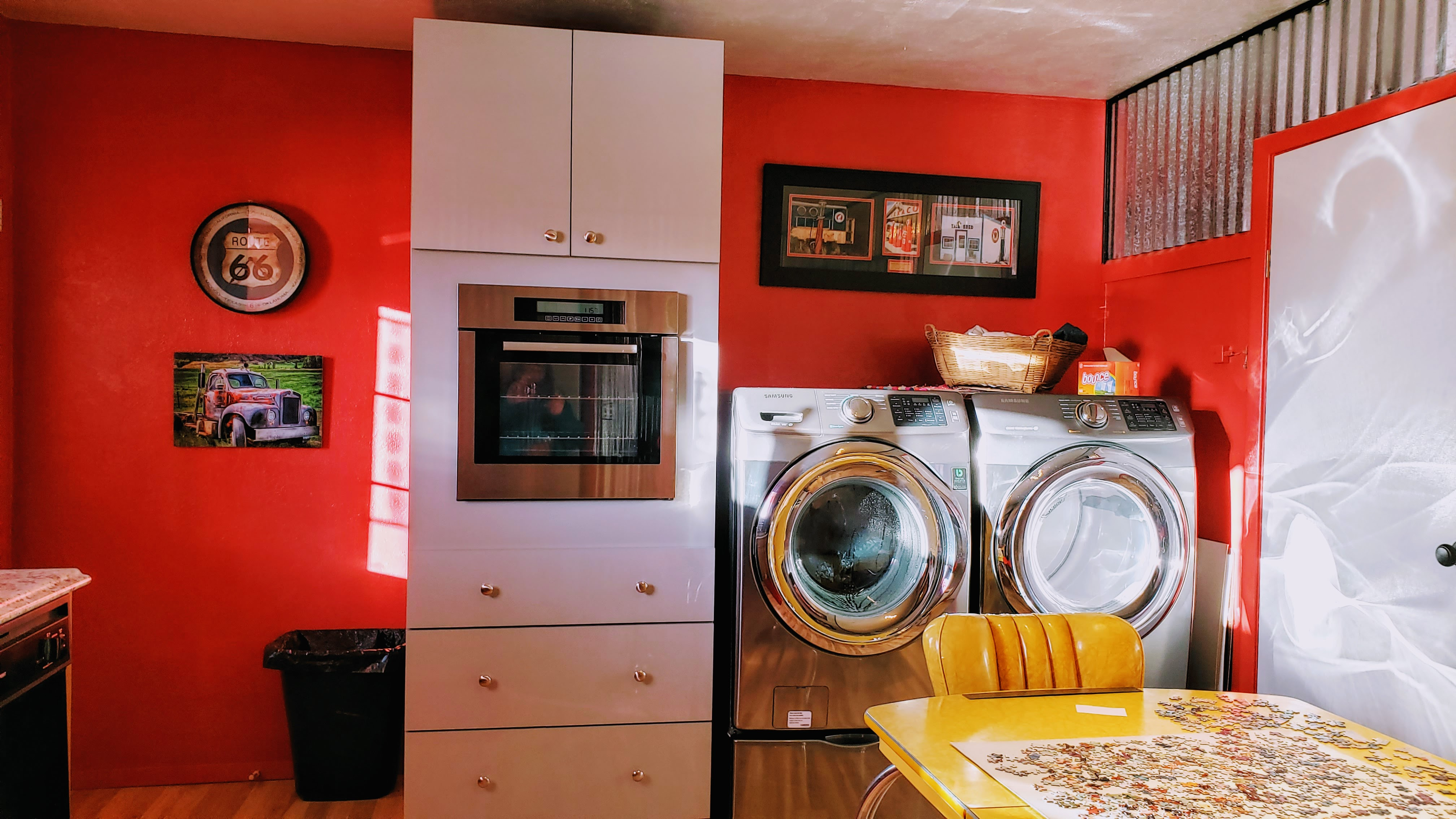 WASHER & DRYER INCLUDED