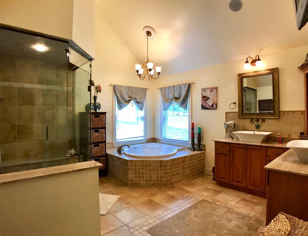 Master Bath with Steam Shower