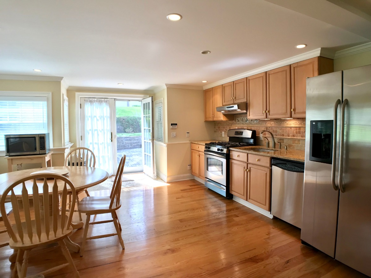 Gas Cooking & Stainless Steel Appliances
