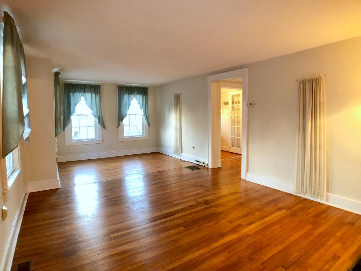 Wide open rooms