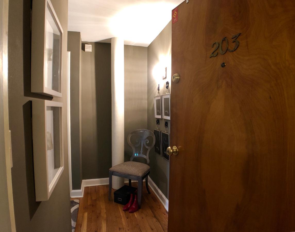 134 Washington Street Unit 203 1 Bedroom w/Balcony