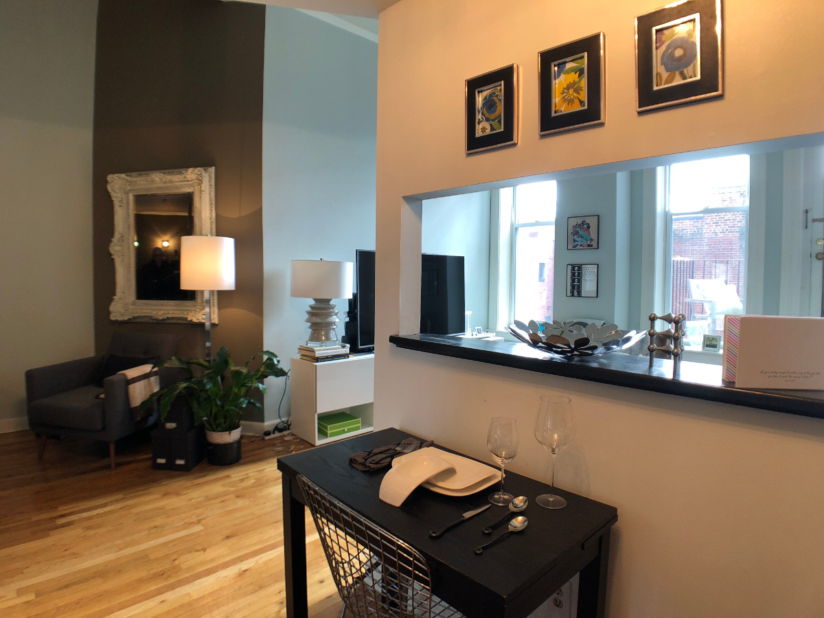 Hardwood Floors and High Ceilings