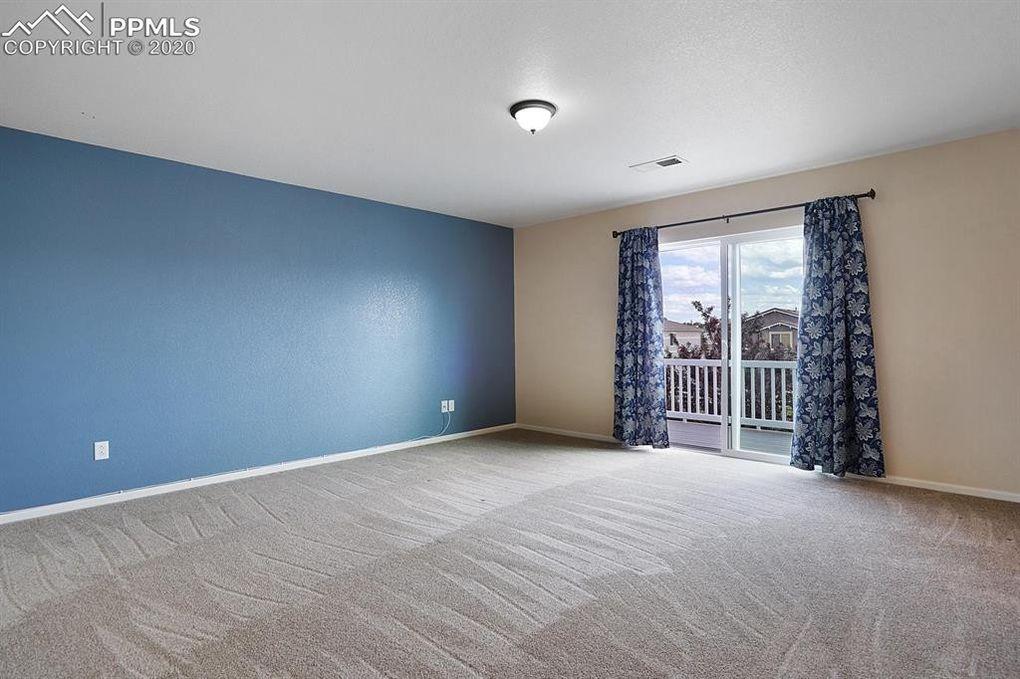 Master Bedroom has balcony!