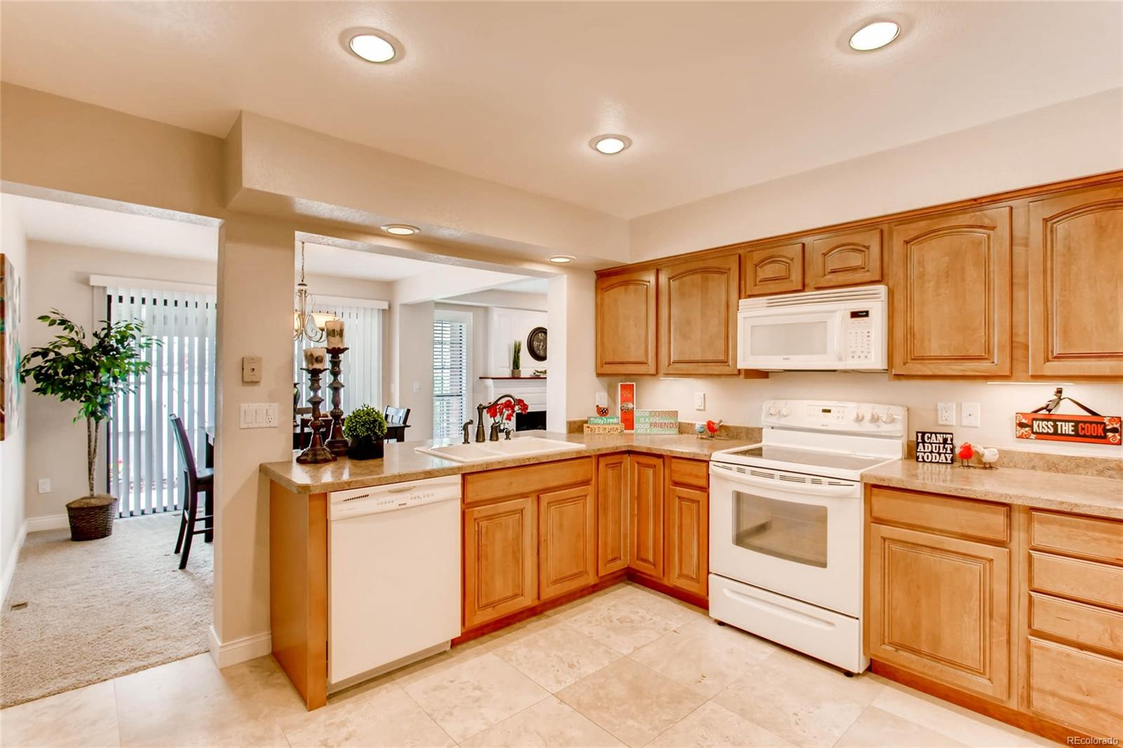 BEAUTIFUL FULLY REMODELED KITCHEN WITH UNDER-CABINET LIGHTING