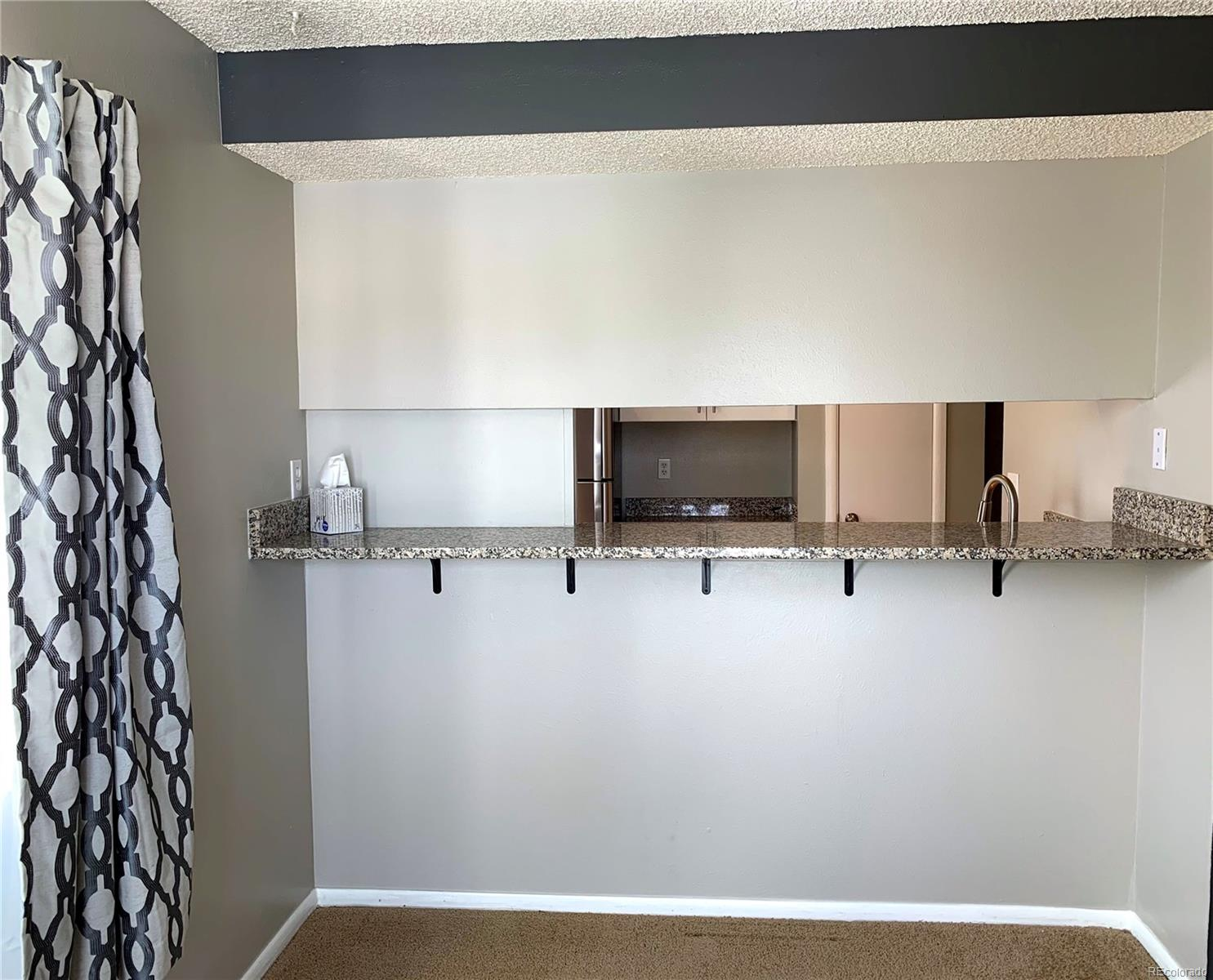 Dining Room with Room for Bar Stools at Counter