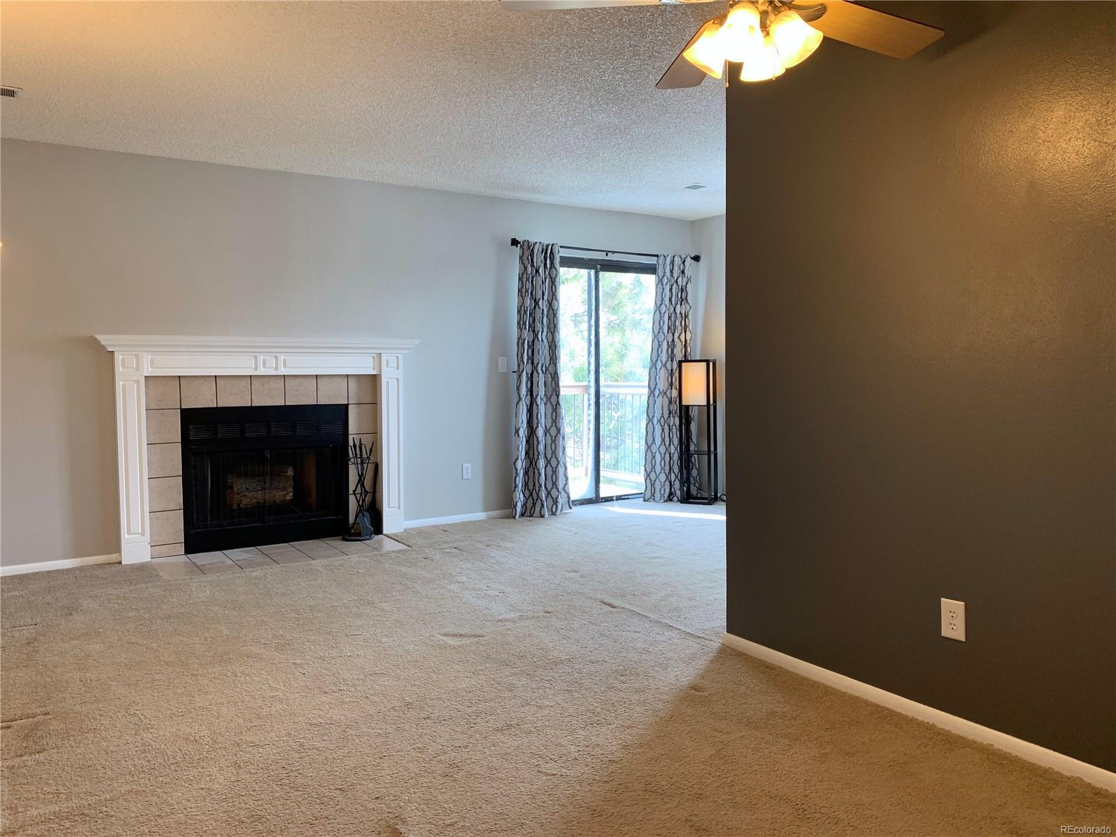 View of Living Room from Foyer