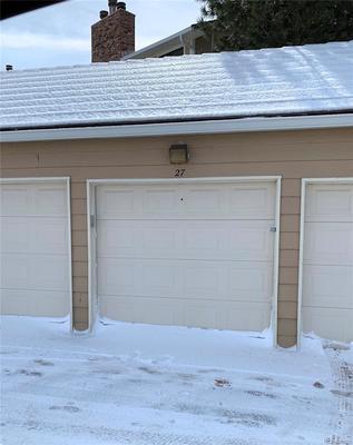 Garage #27-Deeded