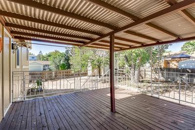 Great covered deck. Perfect for entertaining friends.
