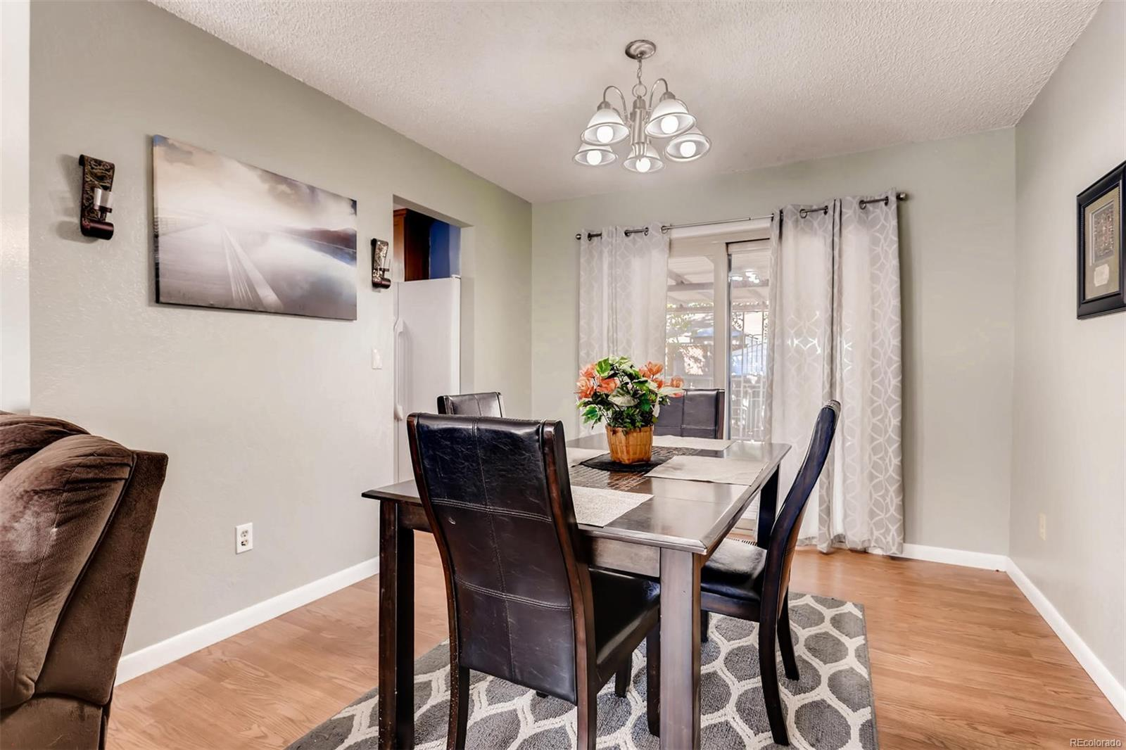 Good sized formal dining room. Will support a large table for your get togethers