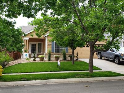 Beautifully landscaped yard with Mature trees