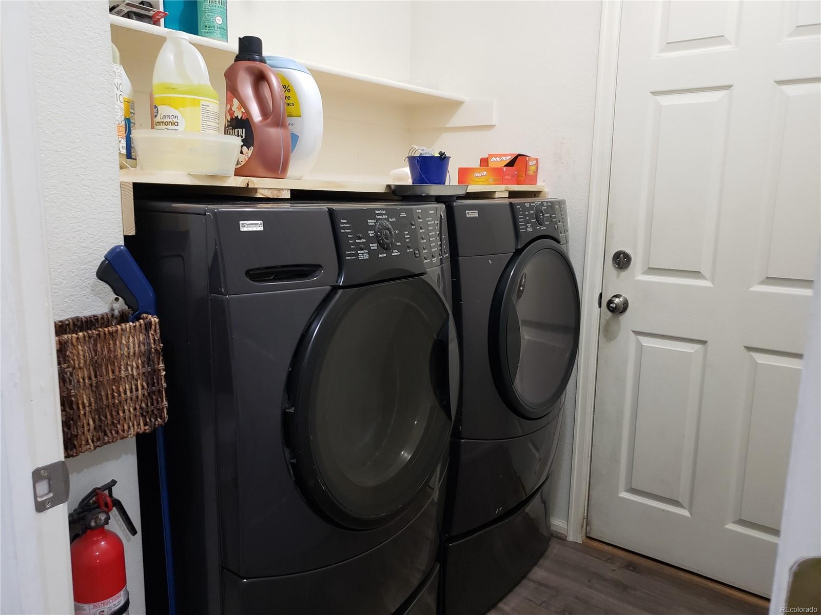 Laundry area off the Garage. Washer/dryer do not stay
