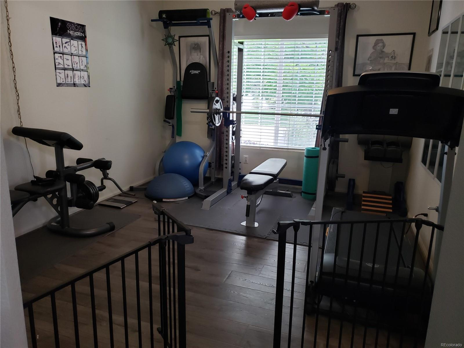 off the Great Room area, has a closet.  Could be bedroom #3, office, den or exercise room