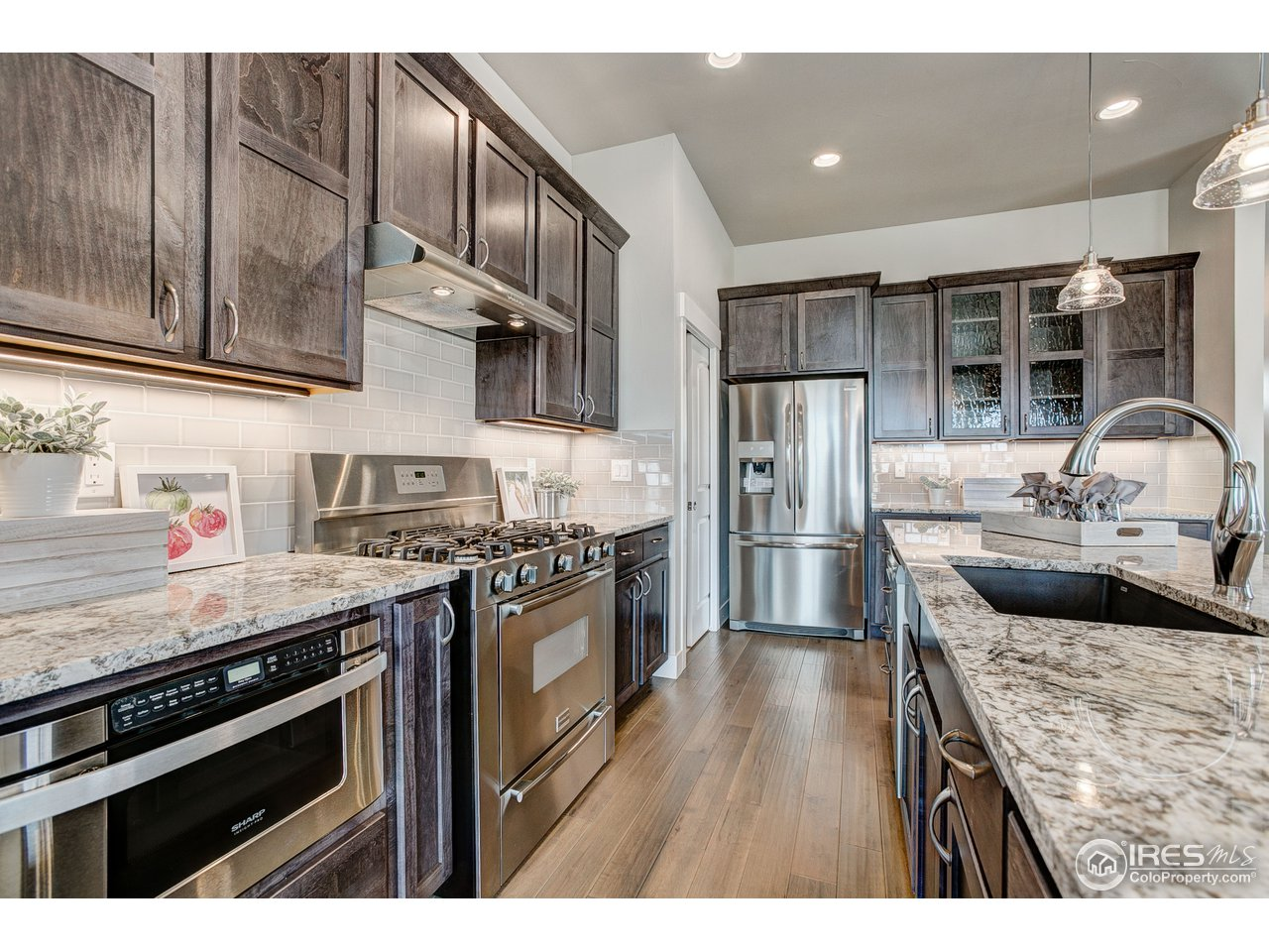 Upgraded appliances for a gourmet kitchen