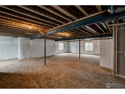 Full basement w/ upgraded structural flooring