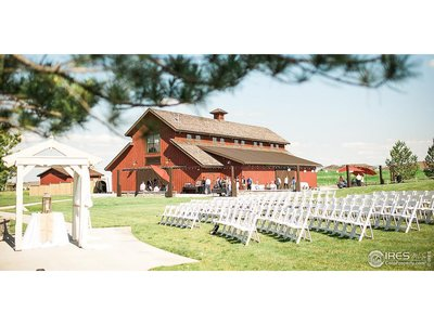 The Big Red Barn for large celebrations