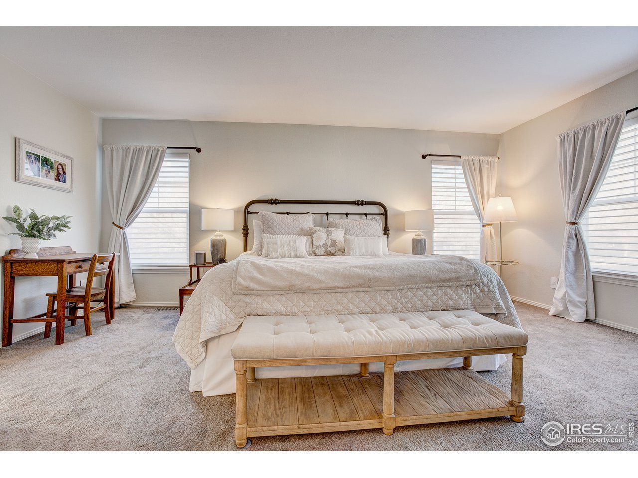 Spacious & tranquil master bedroom