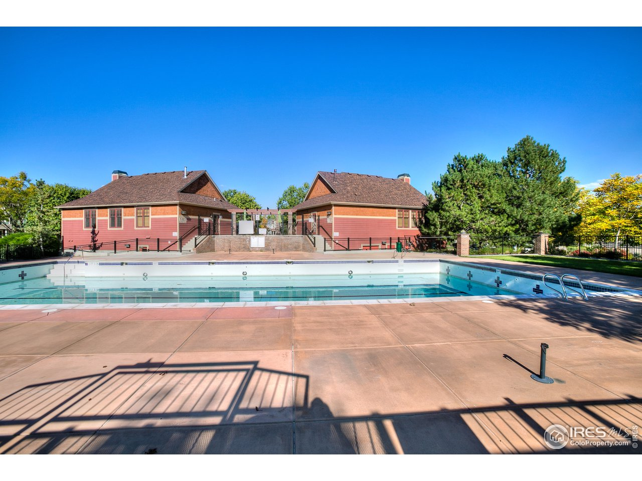 Community pool steps away from your new home!