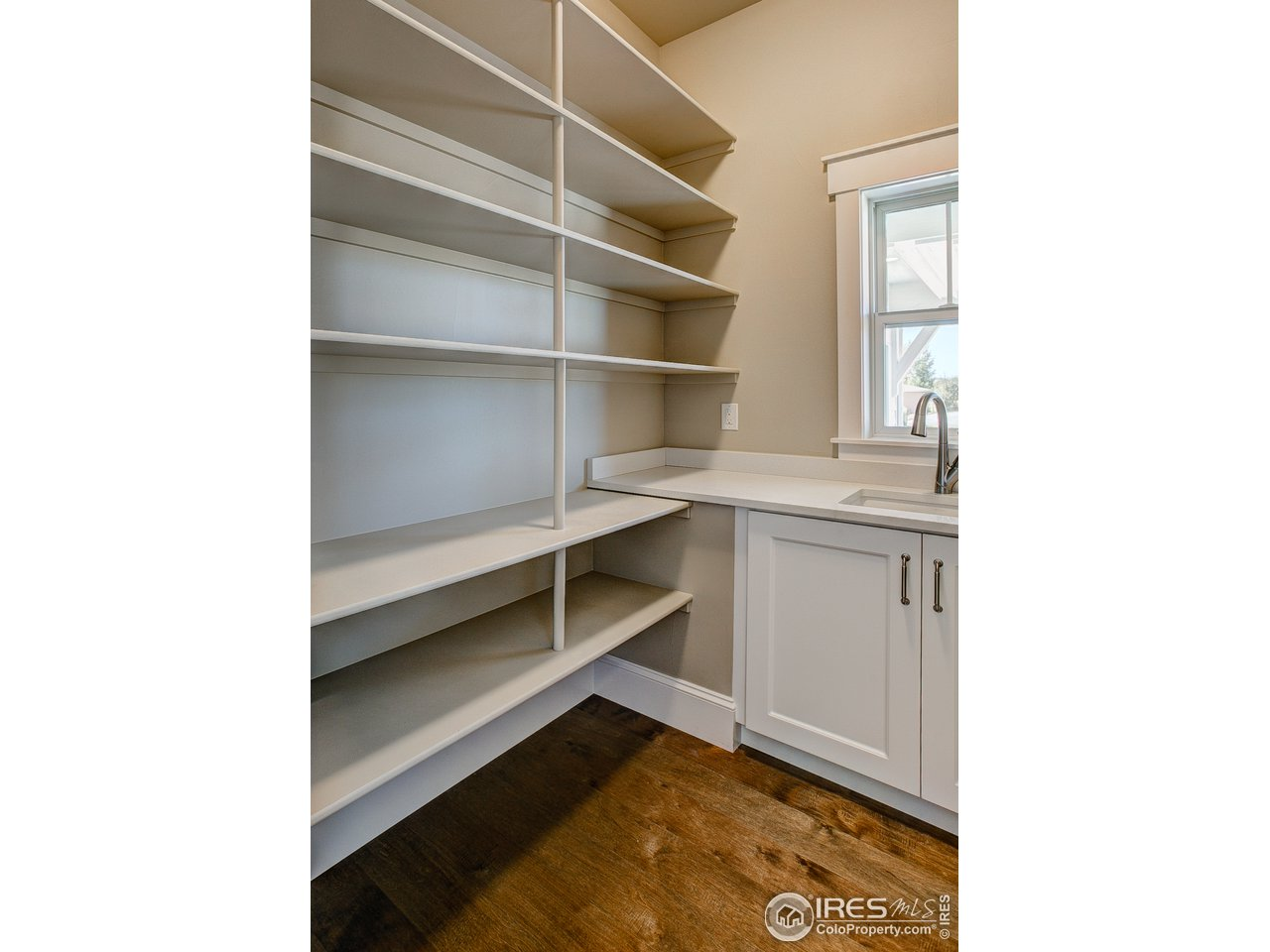 Huge pantry for ample storage