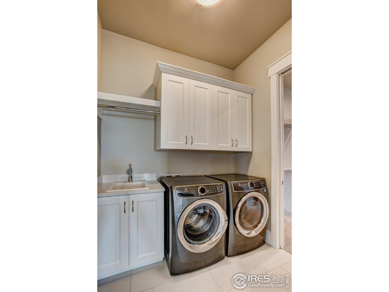 Main floor laundry