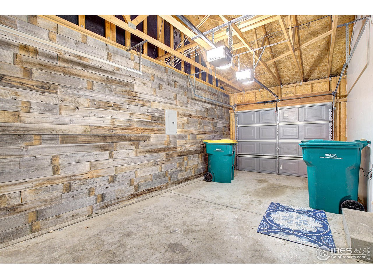 Enjoy your drive-thru garage for easy access to the backyard