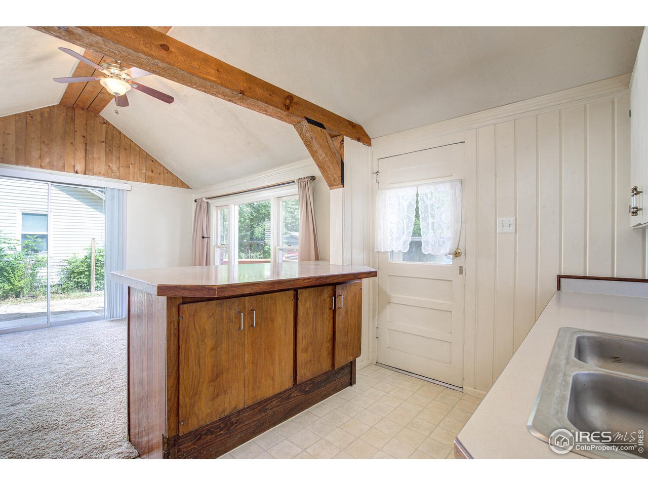 Step inside to find two bedrooms and full bathroom.
