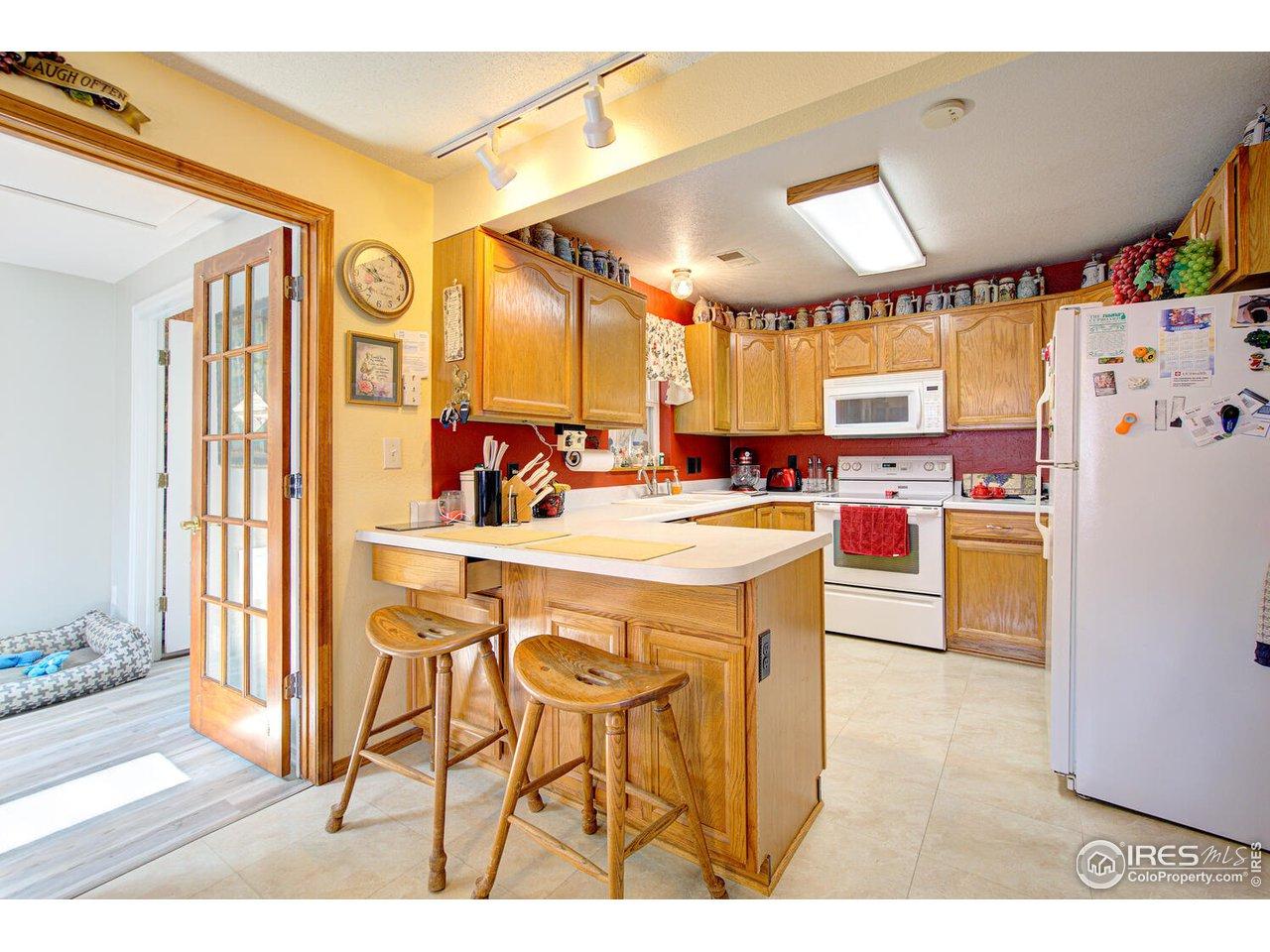 11 x 10 Kitchen.