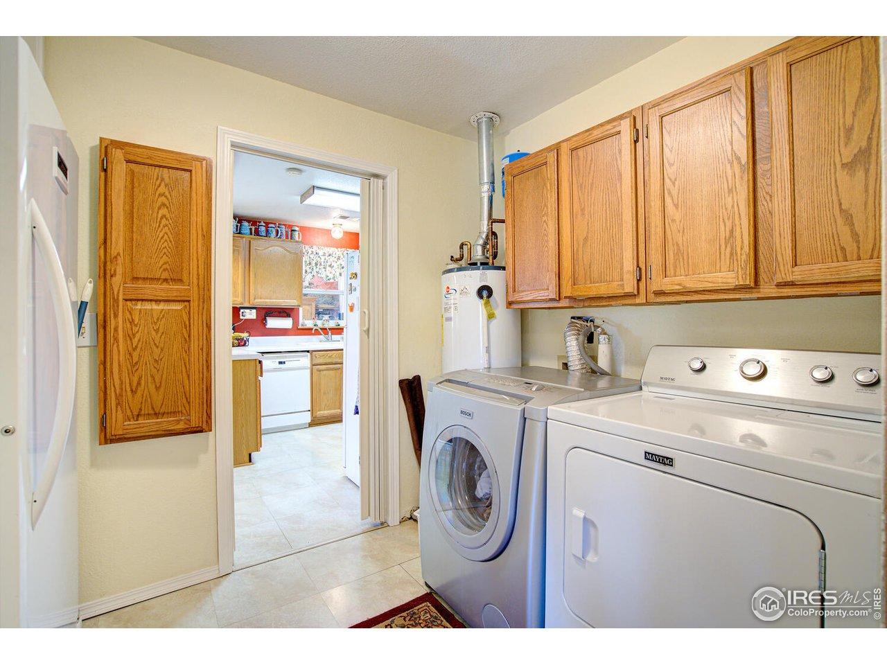 9 x 7 Laundry Room!