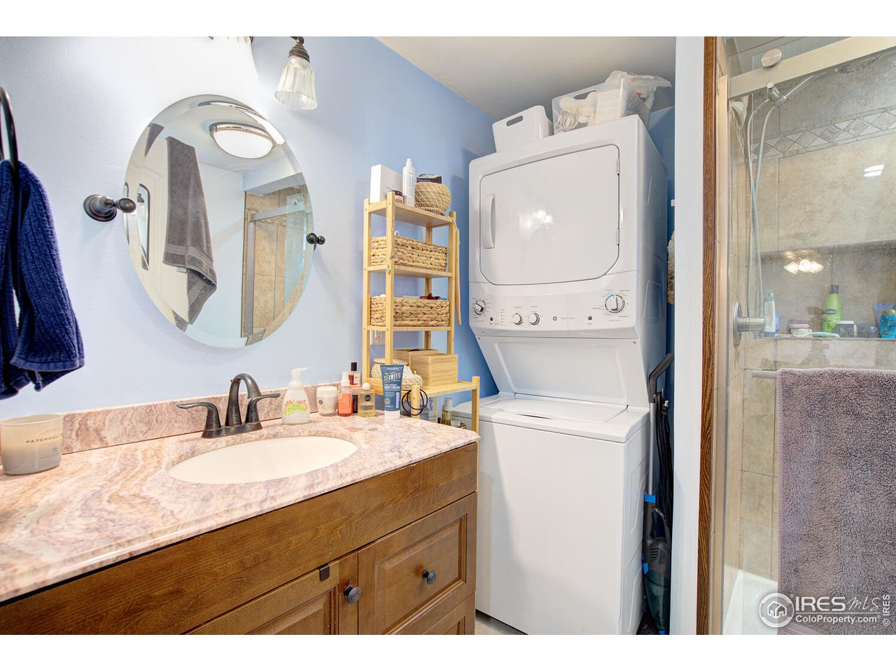 3/4 Bath and Laundry (included).