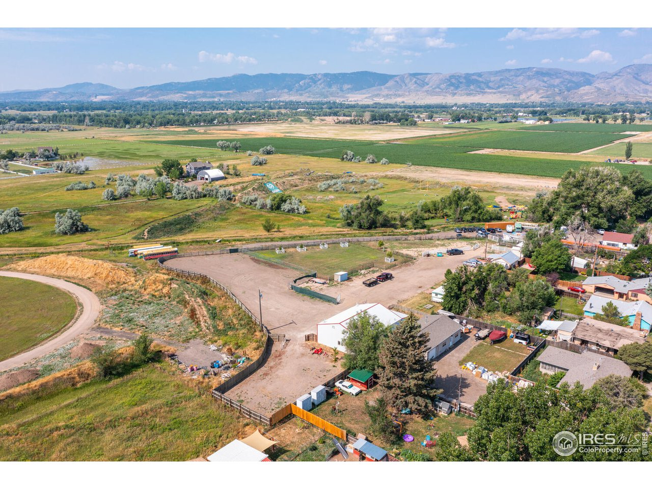Rare opportunity in this current market with 3.5 acres fully fenced with amazing mountain views!