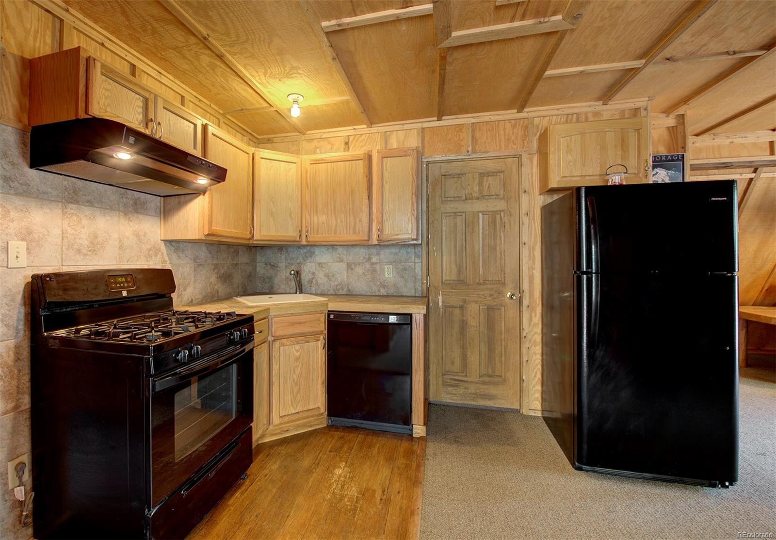 Kitchenette of barn