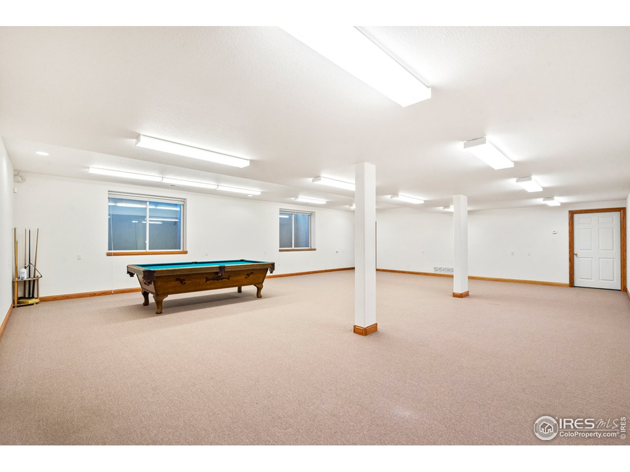 Large Rec Room in Basement