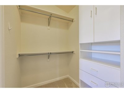 Walk-In Closet - Master Suite